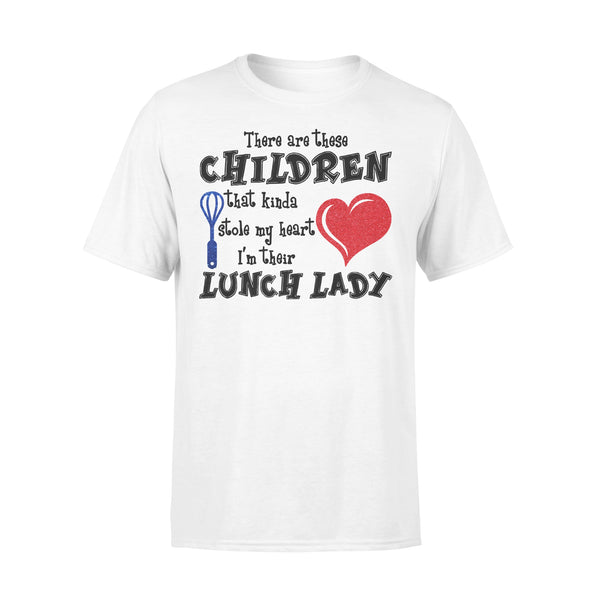 There Are These Children That Kinda Stole My Heart I'm Their Lunch T-shirt L By AllezyShirt
