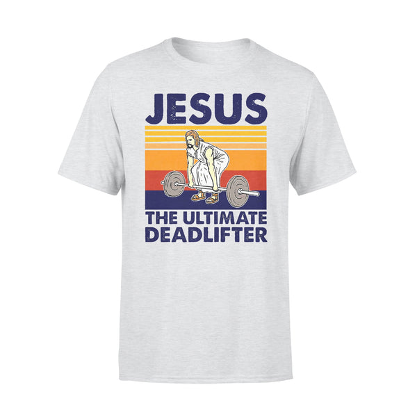 Jesus The Ultimate Deadlifter Vintage T-shirt XL By AllezyShirt