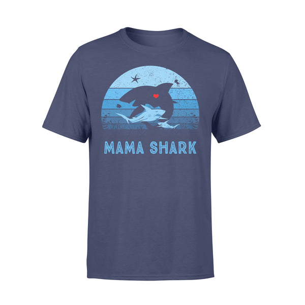 Mama Shark Vintage T-shirt XL By AllezyShirt