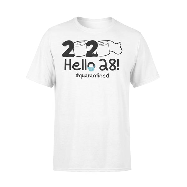 2020 Hello 28 #quarantined Shirt L By AllezyShirt
