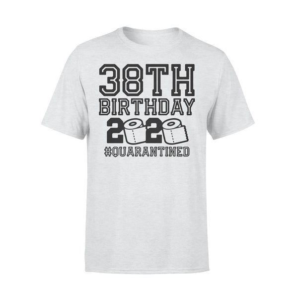 38Th Birthday 2020 Toilet Paper #quarantined T-Shirt XL By AllezyShirt