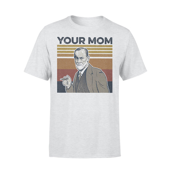 Your Mom Sigmund Freud Vintage Retro T-shirt M By AllezyShirt