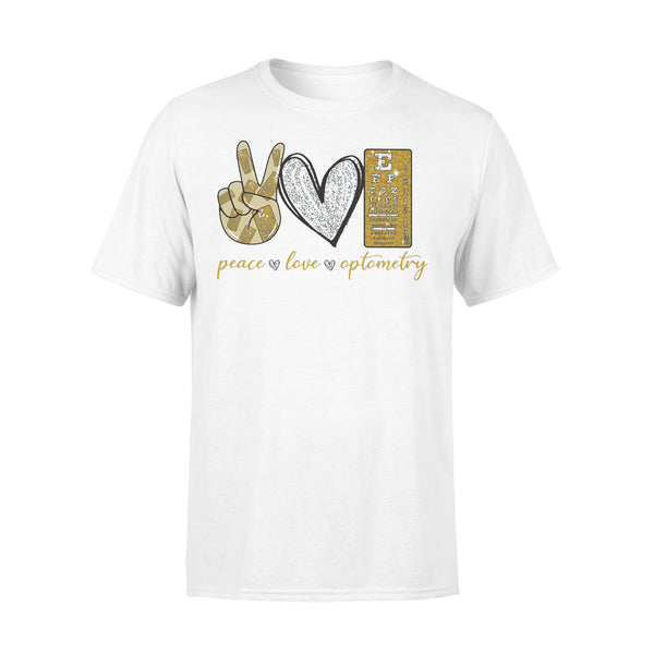 Peace Love Optometry Diamond Shirt L By AllezyShirt