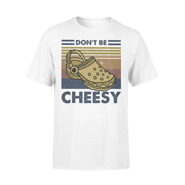 Don't Be Cheesy Crocs Vintage Retro T-shirt L By AllezyShirt