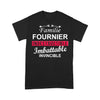 Familie Fournier Indestructible Imbattable Invincible T-shirt L By AllezyShirt