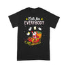 Santa Cats For Everybody Christmas T-shirt S By AllezyShirt