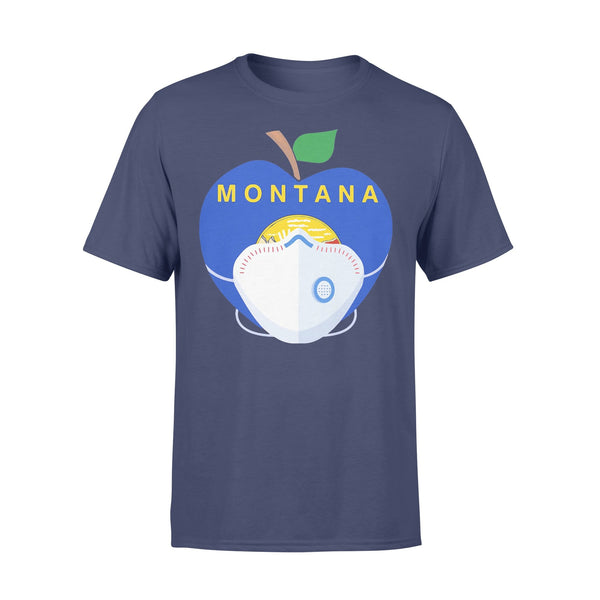 Apple Montana State Covid-19 Shirt XL By AllezyShirt