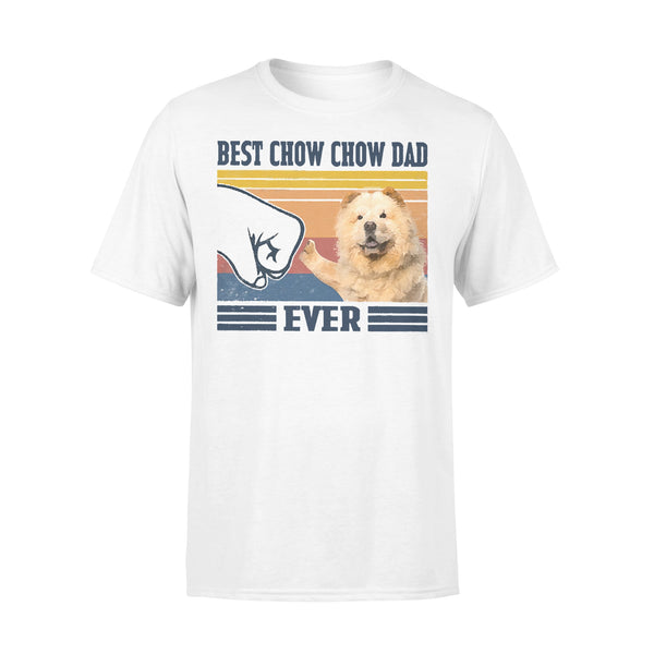 Father's Day Best Chow Chow Dad Ever T-shirt L By AllezyShirt
