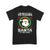 Be Nice To The Veteran Santa Is Watching Ugly Christmas T-shirt