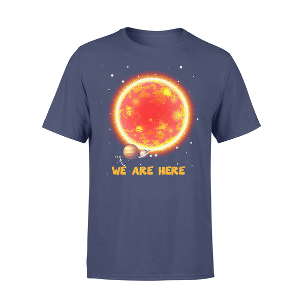 Space Earth We Are Here T-shirt XL By AllezyShirt