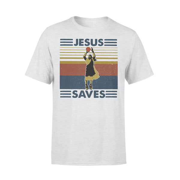 Jesus Save Basketball Vintage T-shirt XL By AllezyShirt