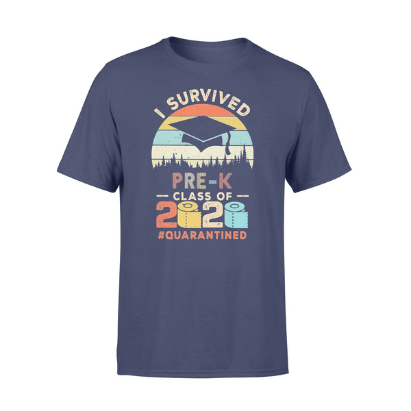I Survived Pre-K Class Of 2020 Quarantined Toilet Paper T-shirt XL By AllezyShirt