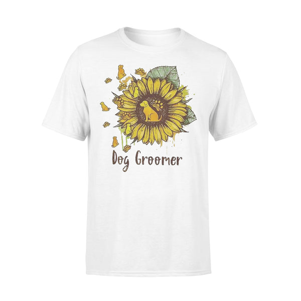 Official Sunflower Dogs Groomer Shirt L By AllezyShirt