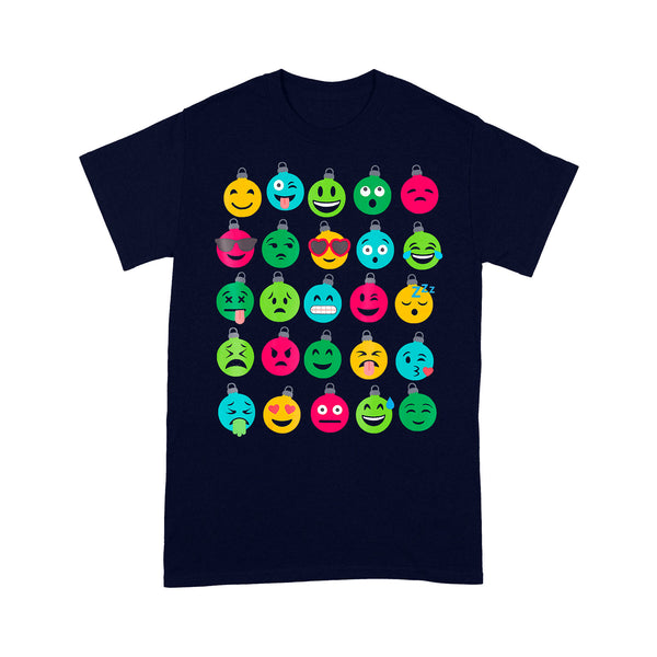Christmas Tree Ornament Emoji T-shirt M By AllezyShirt