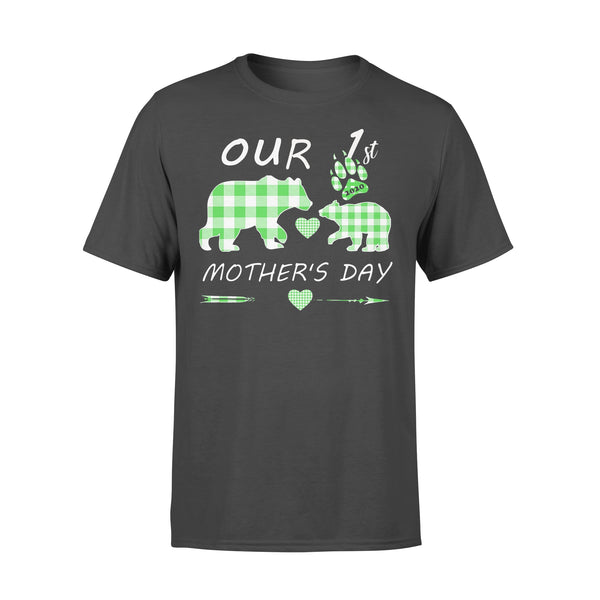 Mother Bear Our 1St Mother's Day T-shirt L By AllezyShirt