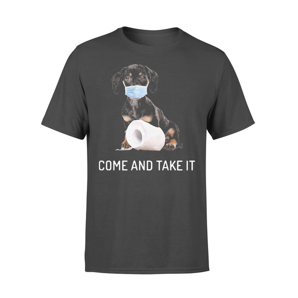 Dachshund Come And Take It Shirt L By AllezyShirt