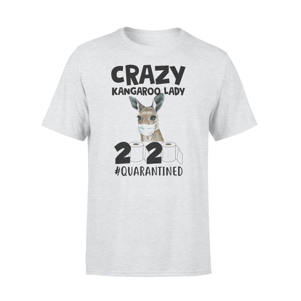 Crazy Kangaroo Lady 2020 Quarantined Toilet Paper Covid-19 T-shirt XL By AllezyShirt