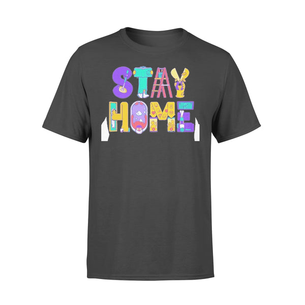 Stay Home Cartoon Shirt L By AllezyShirt