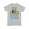 Chemistry Stop Staring At My Rack T-shirt XL By AllezyShirt