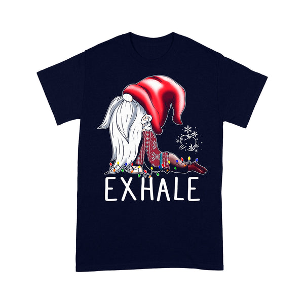 Gnome Exhale Christmas T-shirt XL By AllezyShirt