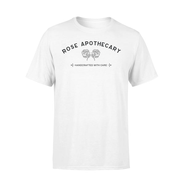 Rose Apothecary Handcrafted With Care T-shirt L By AllezyShirt