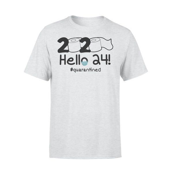 2020 Toilet Paper Hello 24 Quarantined Shirt XL By AllezyShirt