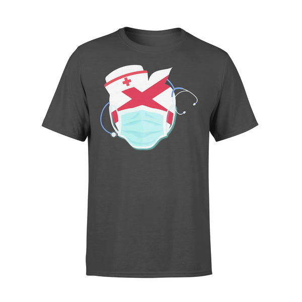Apple Nurse Alabama Flag Covid-19 Shirt L By AllezyShirt