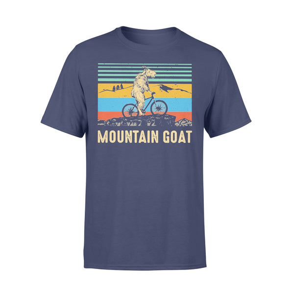 Mountain Goat Ride Bicycle Vintage Shirt XL By AllezyShirt