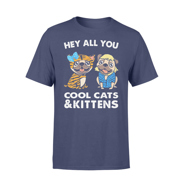 Bulldogs Hey All You Cool Cats And Kittens Shirt XL By AllezyShirt