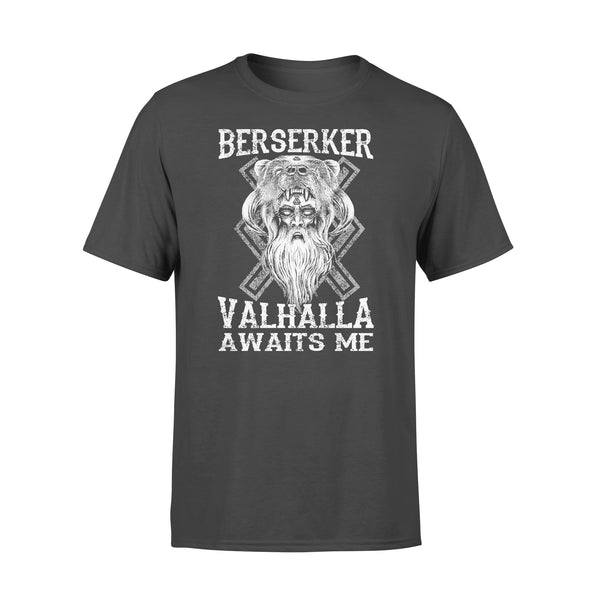 Vikings Berserker Valhalla Awaits Me T-shirt L By AllezyShirt