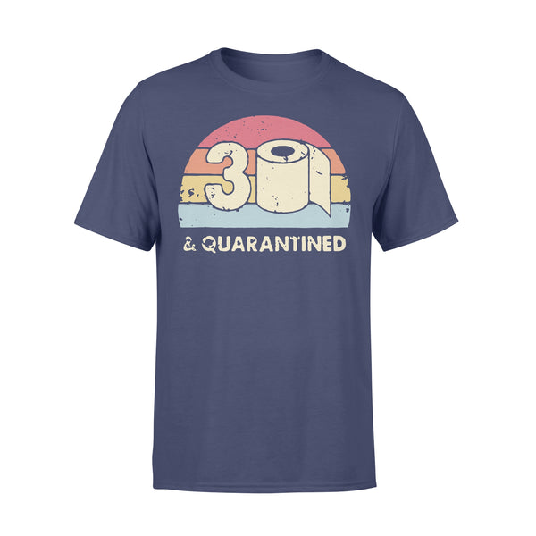 30Th And Quarantined Toilet Paper 2020 Vintage T-shirt XL By AllezyShirt