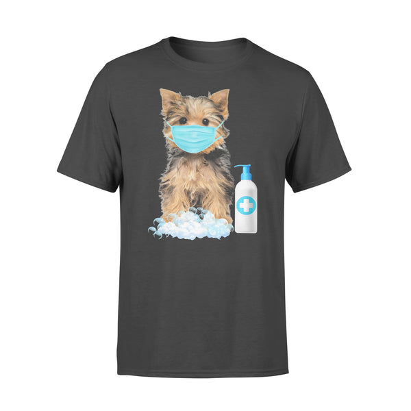 Yorkshire Terrier Lover Face Mask T-shirt L By AllezyShirt