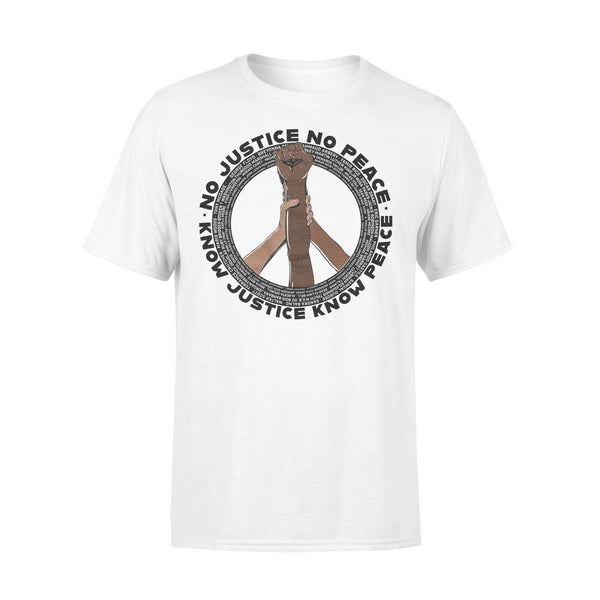 Etc Tacoma No Justice No Peace Know Justice Know Peace T-shirt L By AllezyShirt