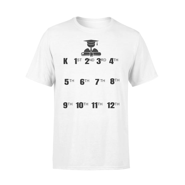 Graduation K123456789101112 T-shirt L By AllezyShirt