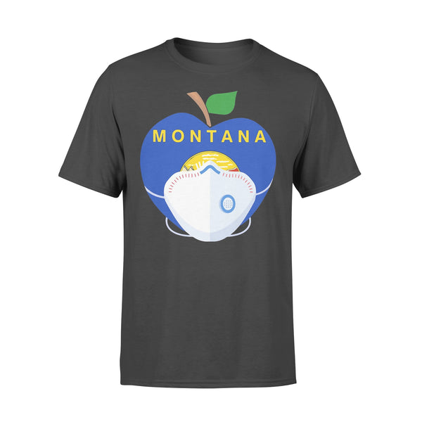 Apple Montana State Covid-19 Shirt L By AllezyShirt