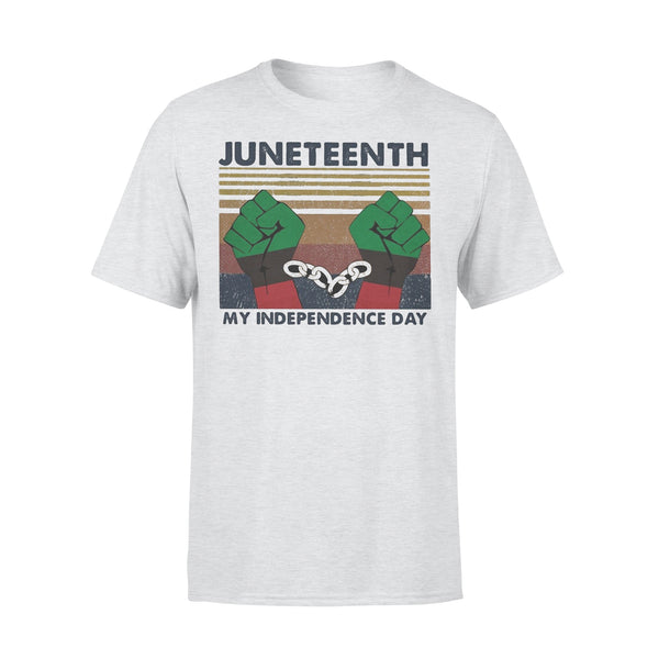 Juneteenth My Independence Day Vintage T-shirt XL By AllezyShirt