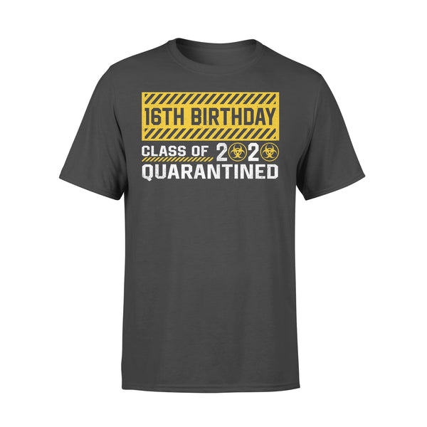16Th Birthday Class Of 2020 Quarantined T-shirt L By AllezyShirt