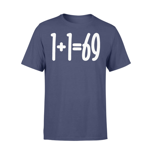 1+1=69 Funny Humor Couple T-shirt M By AllezyShirt