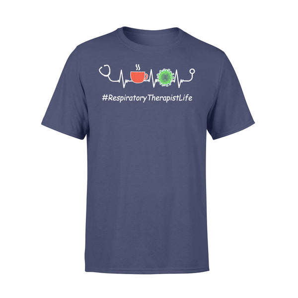 Respiratory Therapist Life Covid-19 Nurse T-shirt XL By AllezyShirt