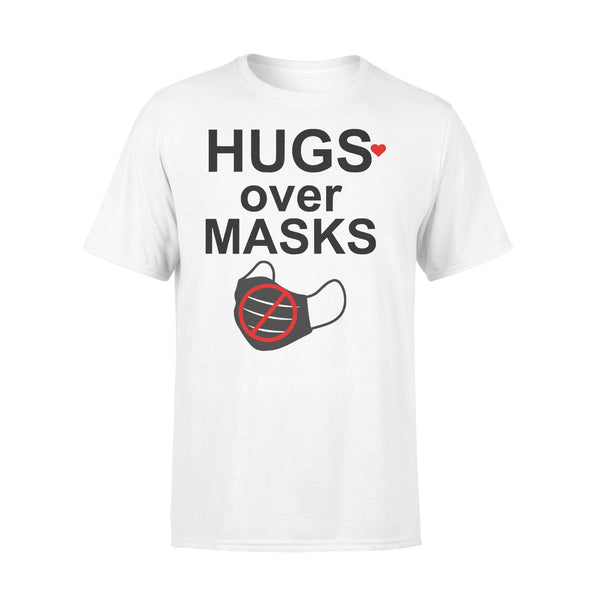 Hugs Over Masks T-shirt L By AllezyShirt