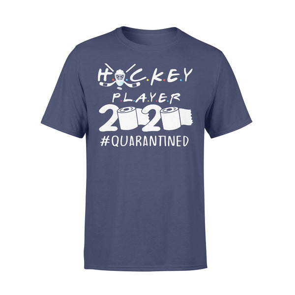 Hockey Player 2020 Quarantined Toilet Paper Shirt XL By AllezyShirt
