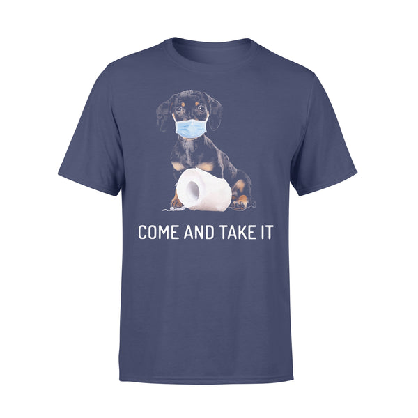 Dachshund Come And Take It Shirt XL By AllezyShirt