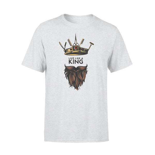 Barber Live Like A King T-shirt M By AllezyShirt