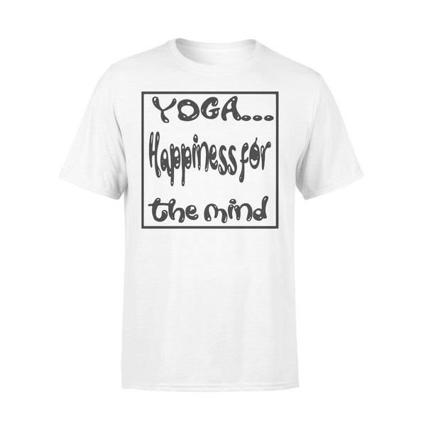 Yoga Happiness For The Mind T-shirt S By AllezyShirt