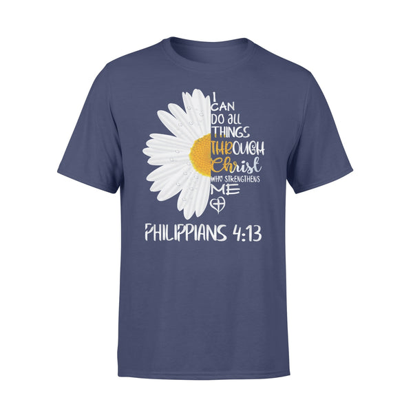 I Can Do All Things Daisy Shirt XL By AllezyShirt