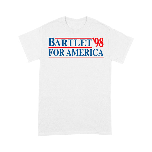 Bartlet '98 For America T-shirt S By AllezyShirt