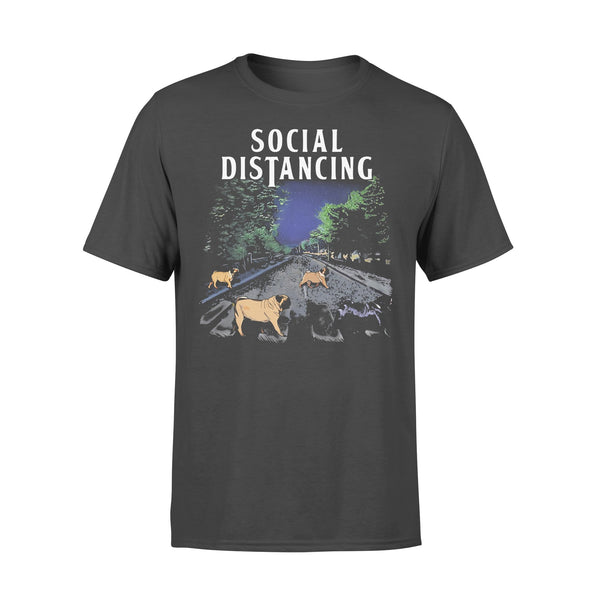 Social Distancing Bulldogs 2020 Shirt L By AllezyShirt