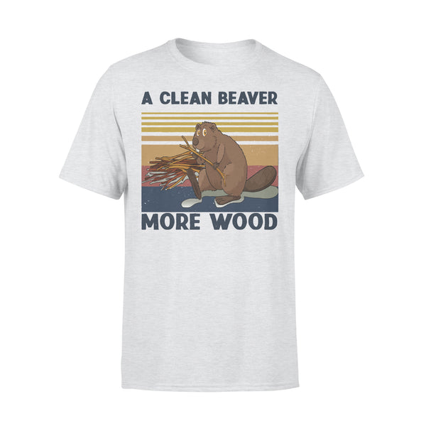 A Clean Beaver Always Gets More Wood Vintage T-shirt XL By AllezyShirt