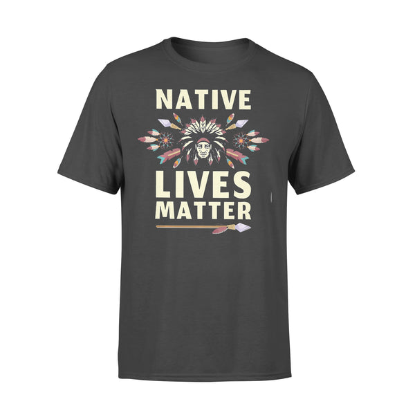 Native Lives Matter Chief T-shirt L By AllezyShirt