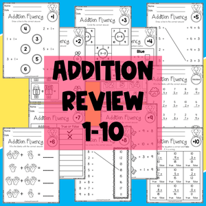 Addition and Subtraction Fluency (The Bundle)